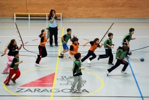 Campus de Iniciacion Balonmano Colores Fabregas en Tenerias